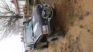 1994 jeep Grand cherokee mud truck
