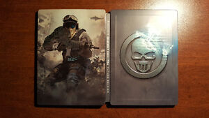 PS3 Ghost Recon Future Soldier Collector case (Metal)