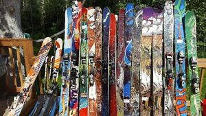 Lots of skis for sale