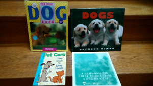 4 children's books about Dogs