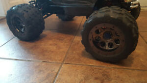 Traxxas tires and rims..rc