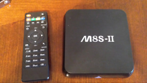 Fully loaded android tv box