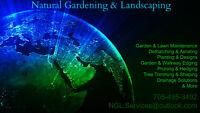 NATURAL GARDENING & LANDSCAPING: 705-495-3492