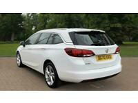 2020 Vauxhall Astra 1.4i Turbo SRi Nav Sports Tourer CVT (s/s) 5dr Auto Estate P