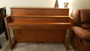 Upright piano w/ bench and metronome - $600 (Coquitlam)