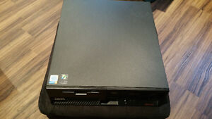 IBM SFF ThinkCentre XP Computer w/ Wireless Keyboard & Mouse