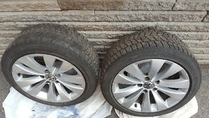 Bridgestone Winter Tires&Rims 235/45/17 West Island Greater Montréal image 1