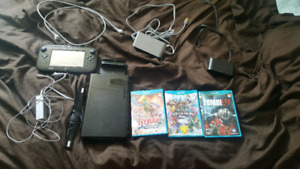 Wii U Deluxe Edition with Games