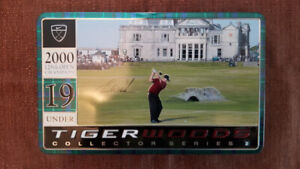 Tiger Woods 2000 Open Championship Collector Nike Golf Ball Set