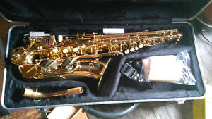 Sax-newly bought, barely played