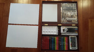 Artists Painting Drawing Set – BRAND NEW IN BOX – FREE DELIVERY!