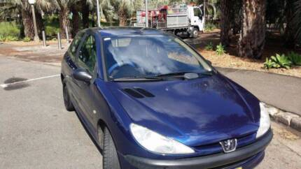 2002 Peugeot 206 Hatchback Chippendale Inner Sydney Preview