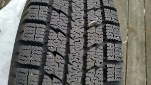 TOYO Winter Tires balanced with Rims