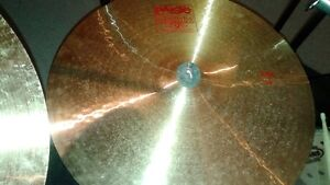 cymbales paiste ride 2002