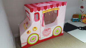 Like new ice cream truck tent