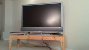 40 inch Sony television and DVD player