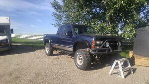 1995 z71 with lift kit trade for older classic/muscle car?