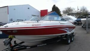 2012 Rinker Boat Co Captiva 226 BR Open Deck , Bowrider