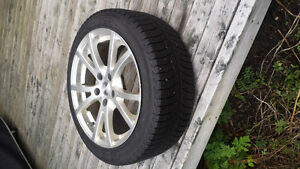 4 Michelin x-ice 3 215/45r17 with fast winter alloy rims