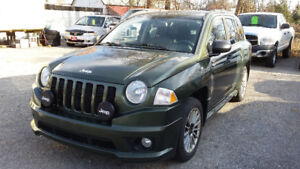 2009 Jeep Compass Limited, Navi, Leather, Certified, Finance OK.
