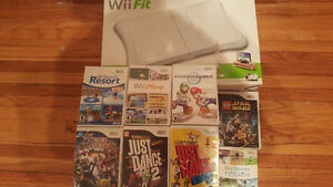Wii+Wii fit and other games/nego