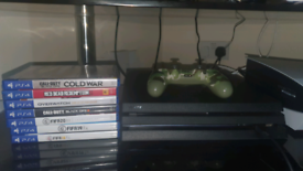 Playstation 4 Pro 1TB, 1 controller + 7 Games