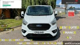 2019 Ford Transit Custom 2.0 EcoBlue 130ps Low Roof Limited Van Auto PANEL VAN D