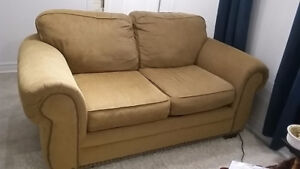 Fabric Couch and Chair
