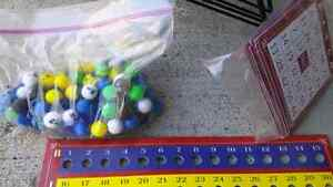 Deluxe Wire Cage Bingo Set with Balls and Cards Kitchener / Waterloo Kitchener Area image 2