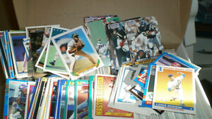 1387 cards, baseball and football