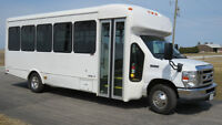 Shuttle Bus For Sale - Fleet Sale of 6 Ford E450 buses