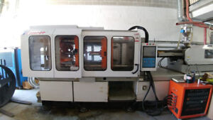 PET Injection Machine (2013) 300T, 1000g shot size, 10800hrs