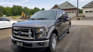 2016 Ford F150 Supercrew 4x4 5L V8 with 5.5ft box