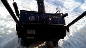 """21"""" 4.50 HP MURRAY SINGLE STAGE 2 CYCLE SNOW BLOWER OR THROWER"""