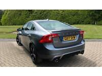2017 Volvo S60 T4 (190) R DESIGN Lux Nav 4dr Automatic Petrol Saloon