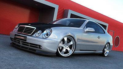 carbon Spoilerlippe Frontspoiler Spoiler Mercedes CLK AMG W208 Bj. 97-03