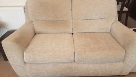 Two Wroxham 2 seater Sofas in Parchment colour cloth