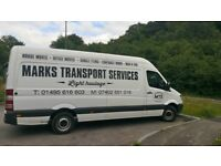Man and van, house moves, transport, light haulage
