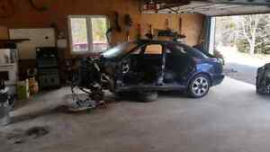 2002 audi a4 full part out