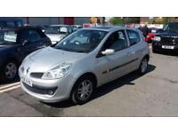 2008 08 RENAULT CLIO 1.2TCE 16V 100 EXPRESSION 3 DOOR.FULL SH.FINANCE AVAILABLE.