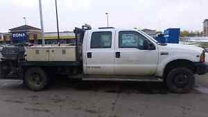F450 service body dually