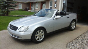 1999 Mercedes Benz SLK-230 Hardtop convertible for sale