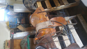 Saddles with Headstalls for sale.