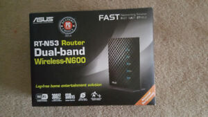 RT-N53 Dual-band Wireless N600 Router