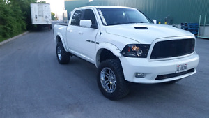 Lifted 2011 dodge ram sport 1500
