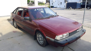 Mazda 626 lift back wagon 1985. RUNS now..