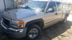2003 4x4 GMC 1500 as is or can Safety