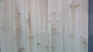 Tongue and Groove Pine Paneling