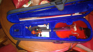 Mint condition Menzel violin