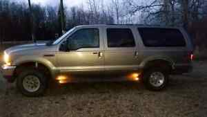 2000 ford excursion 4x4 for sale or trade